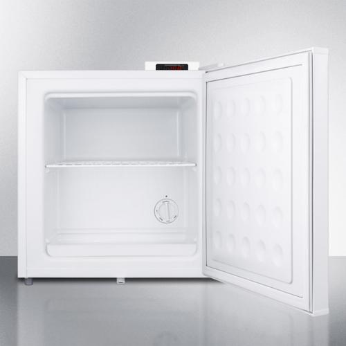 Summit - Compact -20 C Vaccine Storage All-freezer With Digital Thermostat, Temperature Alarm, Hospital Grade Cord, Self-closing Door, and Front Lock