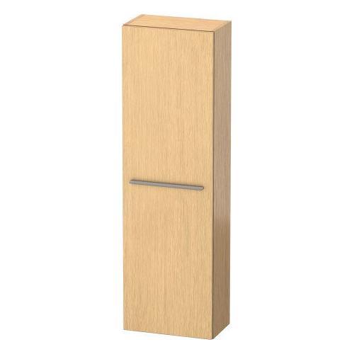 Duravit - Semi-tall Cabinet, Brushed Oak (real Wood Veneer)