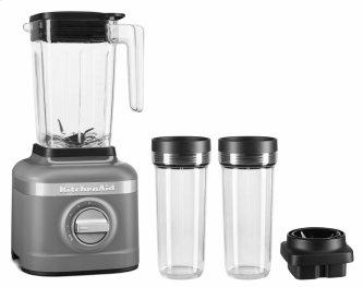 K150 3 Speed Ice Crushing Blender with 2 Personal Blender Jars - Charcoal Grey
