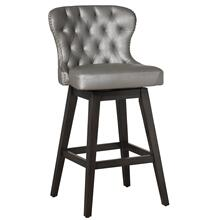 Rosabella Wood Counter Height Swivel Stool