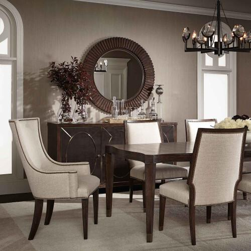 Gallery - Clarendon Host Arm Chair in Arabica (377)