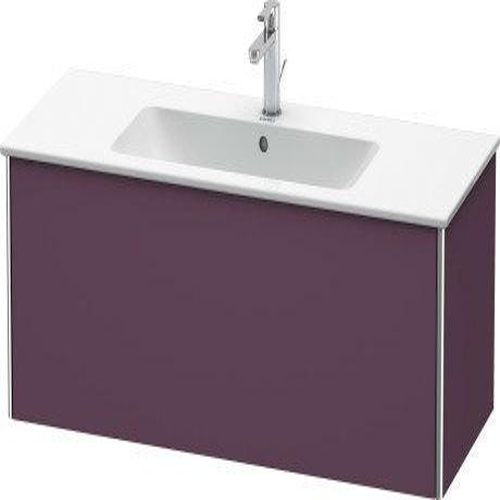 Duravit - Vanity Unit Wall-mounted, Aubergine Satin Matte (lacquer)