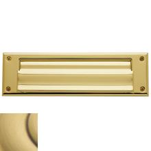 View Product - Satin Brass and Brown Letter Box Plates