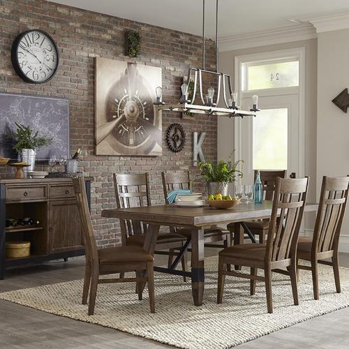 Intercon Furniture - River Trestle Table