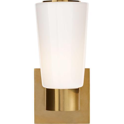 Barbara Barry Acme 1 Light 4 inch Soft Brass Decorative Wall Light