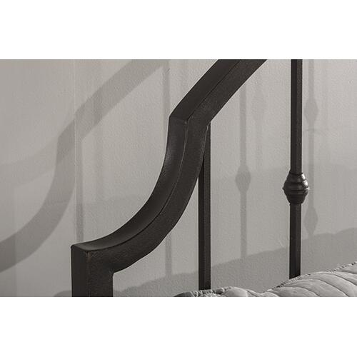 Gallery - Westgate Headboard and Footboard - King - Rustic Black