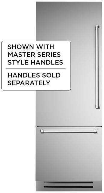 """30"""" Built-in refrigerator - Stainless - Left swing door"""