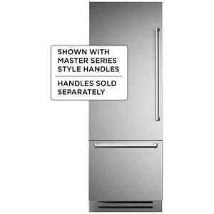 "Bertazzoni30"" Built-in refrigerator - Stainless - Left swing door"