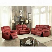 ACME Zuriel Sofa (Motion) - 52150 - Red PU