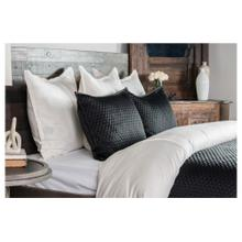 Diamond Onyx 3Pc Queen Quilt Set