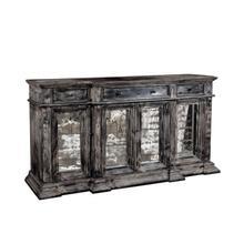 Venecia 79'' Antique Mirror Console