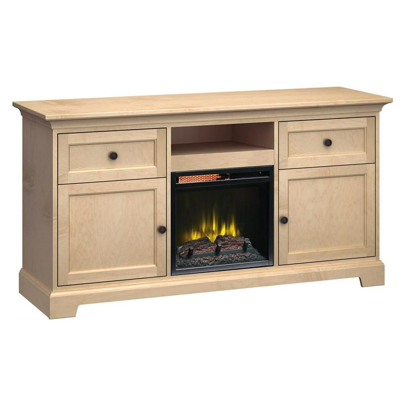FP63E Fireplace Custom TV Console