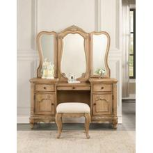 ACME Teagan Vanity Desk, Oak - 22099