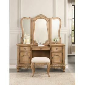 ACME Teagan Vanity Desk, Oak - 22099