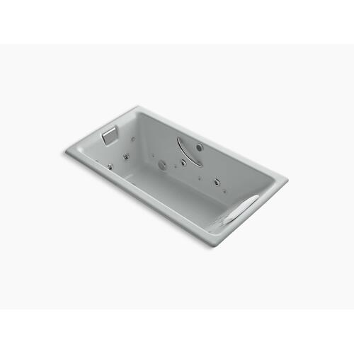 """Ice Grey 66"""" X 36"""" Drop-in Effervescence + Whirlpool With Spa/massage Package"""