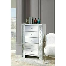 ACME Nysa Chest with 5 Drawers - 97304 - Mirrored
