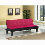 ACME Hamar Adjustable Sofa - 57038 - Pink Flannel Fabric Product Image