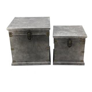 Stash Storage Boxes Set Of 2