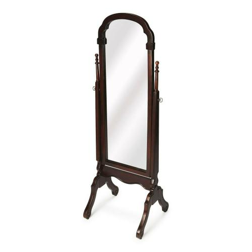 Butler Specialty Company - Selected solid woods and choice cherry veneers. Tilt mirror.