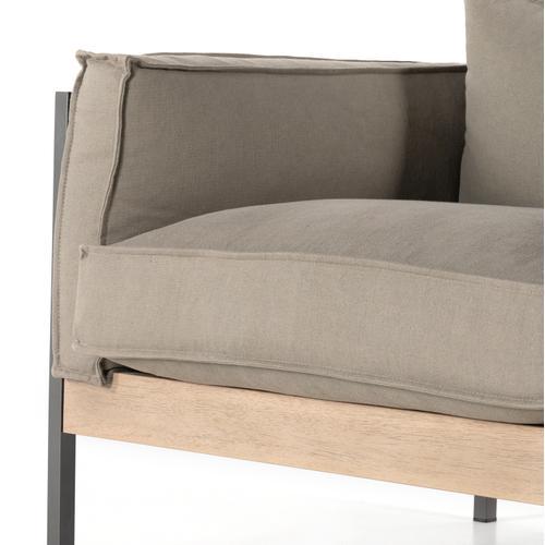 Upton Chair-villa Olive-gunmetal