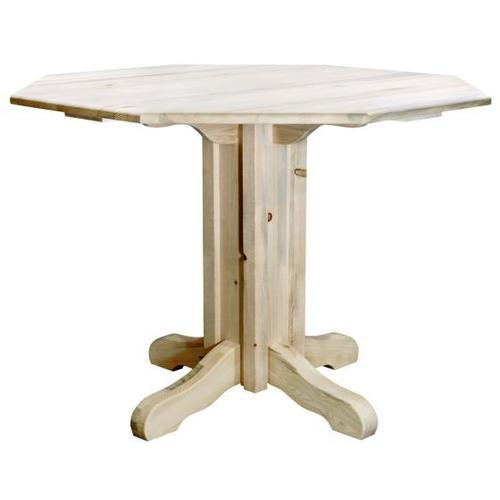 Montana Woodworks - Homestead Collection Center Pedestal Table