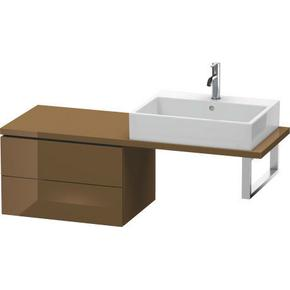 Low Cabinet For Console Compact, Olive Brown High Gloss (lacquer)