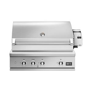 "Dcs36"" Grill, Rotisserie and Charcoal, Lp Gas"