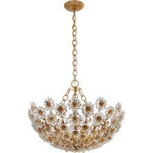 AERIN Claret 12 Light 28 inch Gild Chandelier Ceiling Light, Short