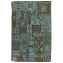 View Product - Patchwork Kilim Lagoon 5x8