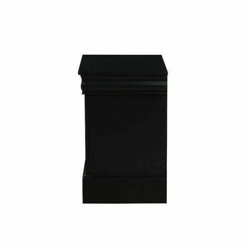 ACME Louis Philippe III Nightstand - 19503 - Black