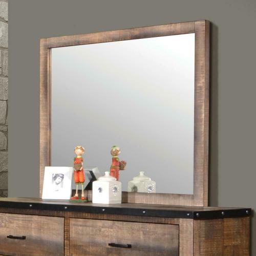 Sembene Antique, Multi-colored Mirror