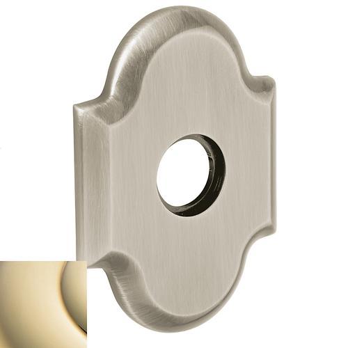 Baldwin - Lifetime Polished Brass R030 Arch Rose