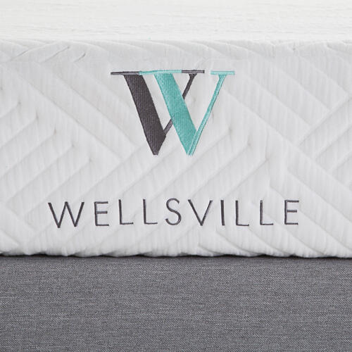 Wellsville 8 Inch Gel Foam Mattress Split Queen