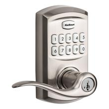 View Product - 917 SmartCode Electronic Tustin Lever - Satin Nickel