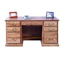 See Details - Forest Designs Traditional Desk: 60W x 30H x 24D - 60w