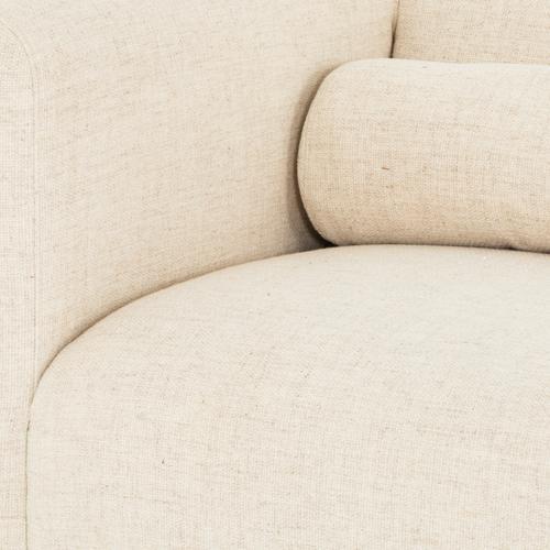 Sled Sofa-thames Cream