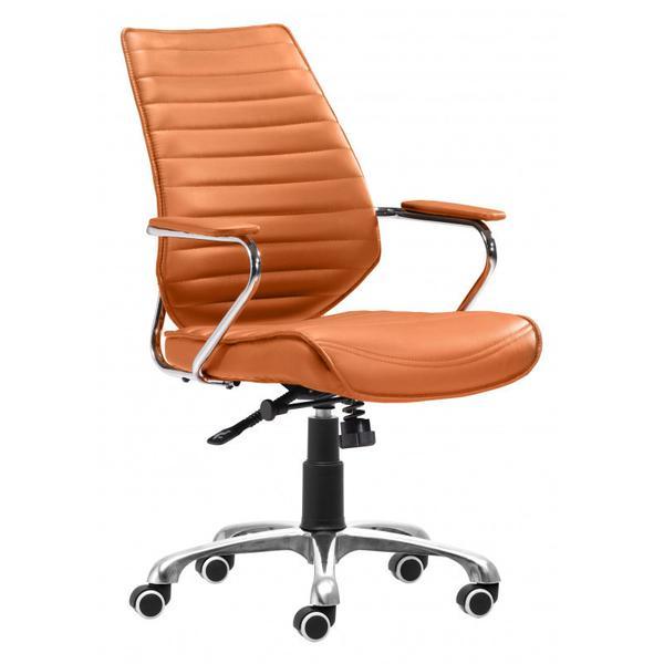 See Details - Enterprise Low Back Office Chair Orange