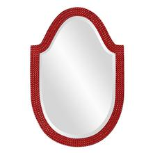 View Product - Lancelot Mirror - Glossy Red