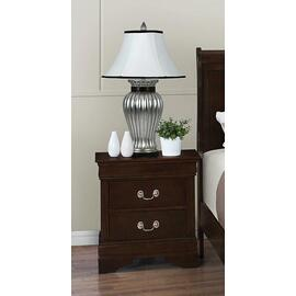 See Details - Louis Philippe Two-drawer Nightstand