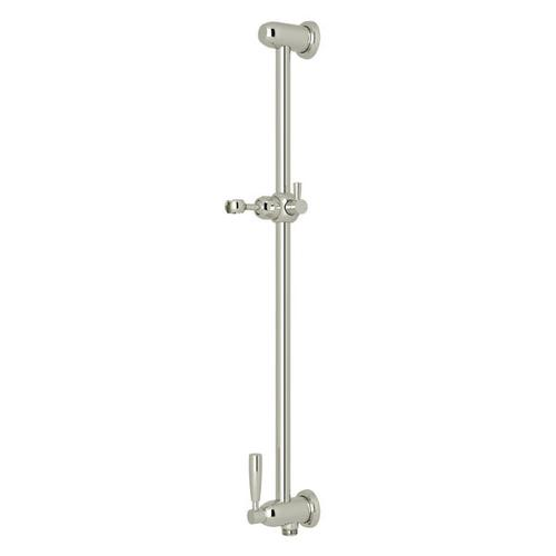 Holborn Slide Bar with Integrated Volume Control and Outlet - Polished Nickel