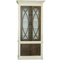 See Details - White/ash Door Tall Cabinet