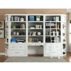 CATALINA 9 Piece Workspace Library Wall