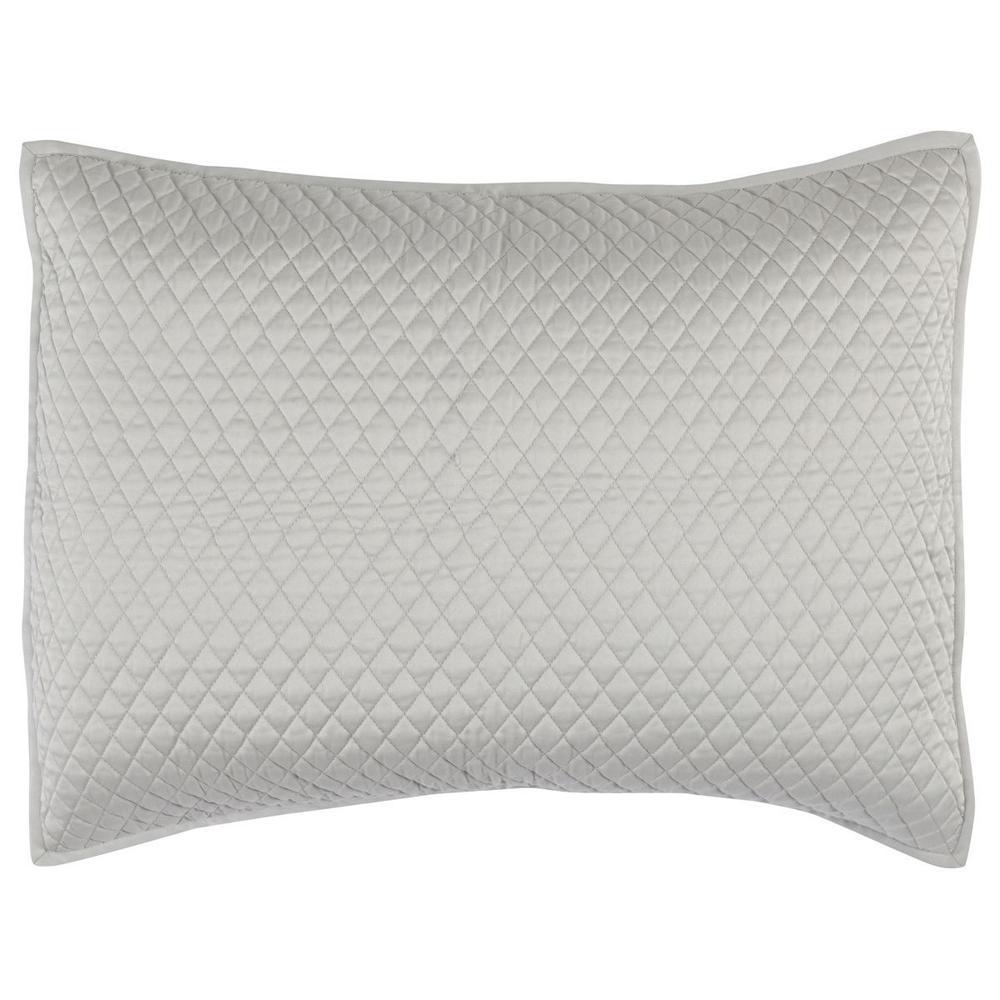 See Details - Diamond Silver Standard Sham
