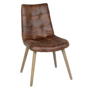 See Details - Roosevelt Upholstered Dining Chair Chestnut