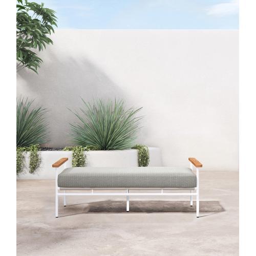 Faye Ash Cover Aroba Outdoor Bench