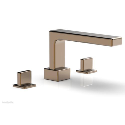 MIX Deck Tub Set - Blade Handles 290-40 - Old English Brass