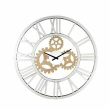 ACME Acilia Wall Clock - 97725 - Glam - Mirror, Glass, MDF - Mirrored