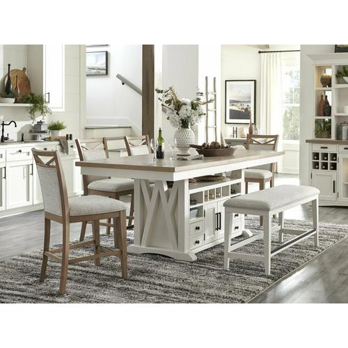 AMERICANA MODERN DINING Counter Chair Upholstered (2/CTN Sold in pairs)