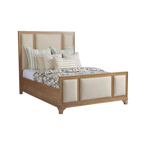 Crystal Cove Upholstered Panel Bed King Headboard