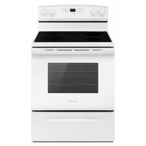 Amana30-inch Electric Range with Self-Clean Option - White